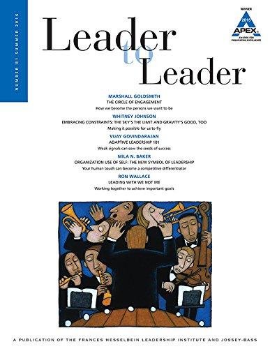Leader to Leader (LTL), Volume 81, Summer 2016 (J-b Single Issue Leader to Leader)