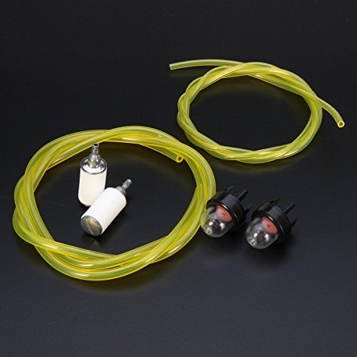SGerste Vergaser Primerpumpe & 3Füße Fuel Gas Line & Kraftstoff-Filter für McCulloch Husqvarna Stihl