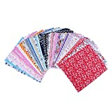 Edealing 1 Set Coton farbic Design Fleur Serier Patchwork Tissu Fat Artisanat Quater Bundle Couture Pour Tissu