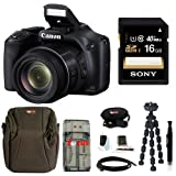 Best Selling Canon Powershot SX530 HS Camera with 16GB Deluxe Accessory Kit be sure to Order Now