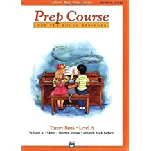 Alfred's Basic Piano Prep Course Theory Book, Level A (Alfred's Basic Piano Library)