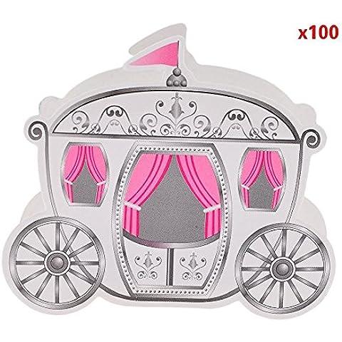 Finer Shop Bar Craft-Beccuccio versatore favola carrozza di Cenerentola Bomboniere matrimonio decorazione romantica scatola caramelle