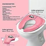 Jerrybox Faltbare Toilettensitze für Kinder