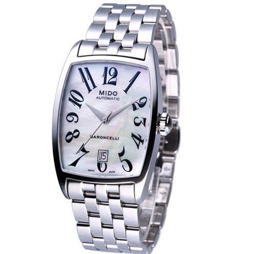 Mido Ladies Watch Automatic Baroncelli Tonneau M0033071111200