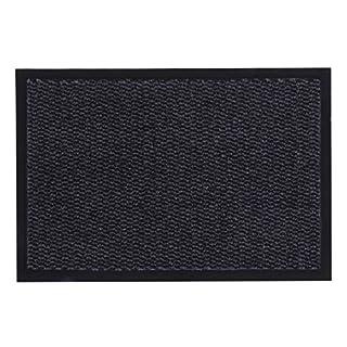 andiamo Schmutzfangmatte, Fußmatte aus Polypropylen - Indoor/Outdoor geeignet - in 80 x 120 cm Anthrazit - 5 mm Höhe