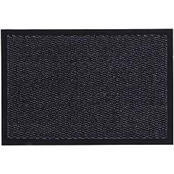 andiamo Schmutzfangmatte, Fußmatte aus Polypropylen – Indoor/Outdoor Geeignet - in 120 x 180 cm Anthrazit – 5 mm Höhe