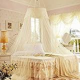 vycloud (TM) verano dulce princesa Style encaje circular cama de cúpula de dosel mosquitera contra insectos para niñas Mujeres