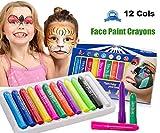 JYOHEY 12 Cols Gesicht Farbe Sicher Ungiftig Waschbar Für Geburtstag Party Hochzeit Halloween Weihnachten Make-up Malerei Sport Spiel Face Paint