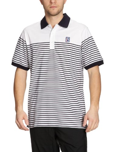 PGA TOUR Herren Polo Funktionshemd Clearwater navy