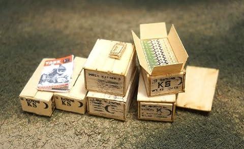 1/35 avant militaire Line Series No.07 WW2 Am?rique et la configuration d?finies A (Japon import / Le paquet et le manuel sont ?crites en japonais)