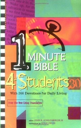 1 Minute Bible Devotions 4 Students: 366 Daily Devotions