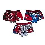 – Boxer short garçon Spiderman ( lot de 3) Taille de 2 à 8 ans – 2 / 3 ans ,4 / 5 ans ,6 / 8 ans