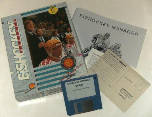 Eishockey Manager - Eurobox 3,5 Disk (PC) gebr.