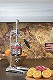 Optimum PROFESSIONELLE HAND SAFTPRESSE ZITRUSPRESSE ORANGEN GRANATAPFEL CHROM XL