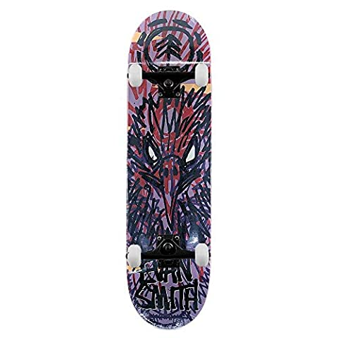 Element Skateboards FOS Evan Smith Osprey Complete Skateboard Violett 21 cm