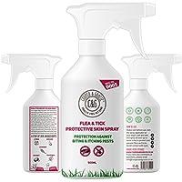 Cooper and Gracie C & G - Spray de protección para pulgas para perros, sin crueldad, para cuidado de mascotas, para perros