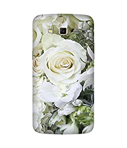 White Roses Samsung Galaxy Grand 2 Case