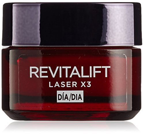 L'Oreal Paris Revitalift Láser x3 Crema de Día Intensiva Anti-Edad – 50 ml