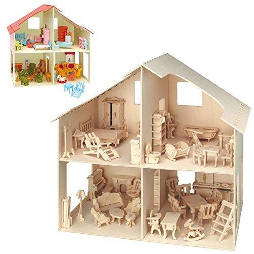 Bausatz für Kinder ab 6 Jahren kreativ Holzspielzeug Walking Mammut Funktionsmodell aus Holz
