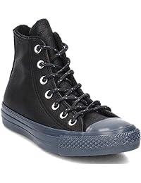 Converse Chuck Taylor All Star Crinkled Patent Leather 558002C Scarpe da Donna Sneaker NERO- 36.5 EU