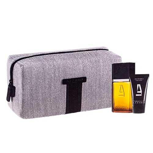 Cofanetto pour Homme - Eau de toilette Vaporisateur 50 ml + Hair & Body Shampoo 50 ml + Borsello