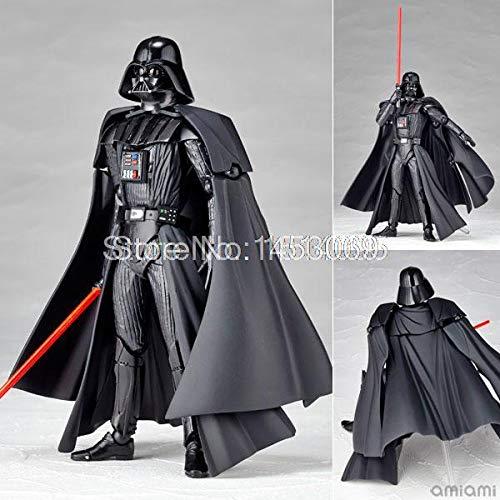 Star Wars Revoltech-Serie Nr. 001 Darth Vader Nr. 002 Stormtrooper Starwars-Figur PVC-Action-Figuren Sammlermodell Spielzeug, Darth Vader (Darth Vader Action-figur)