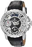 Burgmeister Herren Skeleton Mechanik Uhr mit Leder Armband BM237-102