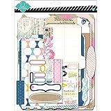 American Crafts papier Heidi Swapp Mixed Media Album Scrapbooking Kit de 9x 11.5-inch, papier cartonné mémoire fichiers