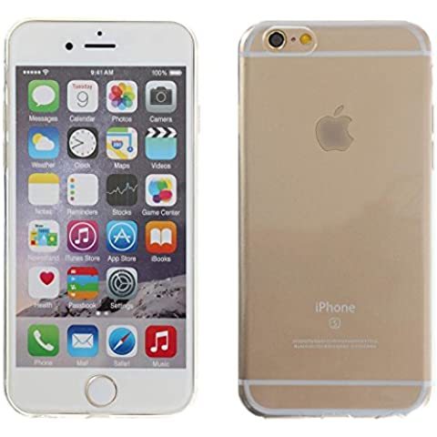 3Q Funda Apple iPhone 6 PlusFunda iPhone 6S Plus Carcasa Novedad Mayo 2016 Diseño Suizo Funda Transparente