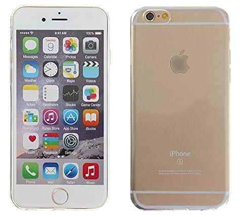3Q iPhone 6 Plus iPhone 6S Plus Hülle Transparent Silikon Ultra-Dünn Case Cover Handy-hülle Tasche Durchsichtig Schutz-Hülle Etui 3Q-PC-IF08 Schweizer Premium Design und