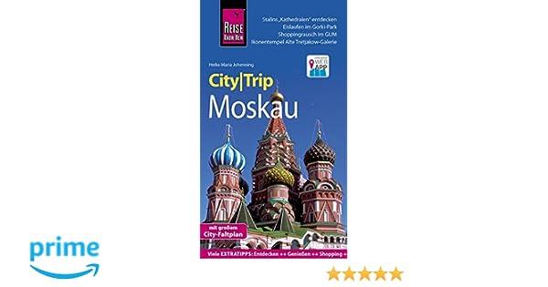 reise know how citytrip moskau reisefuhrer mit faltplan und kostenloser web app