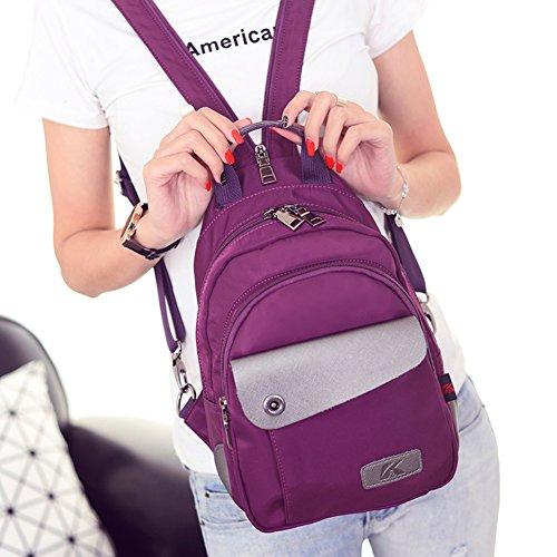 Zaino da viaggio doppia/borsa di stoffa di Oxford Miss Han Ban/Tempo libero in nylon borsa Messenger-A B