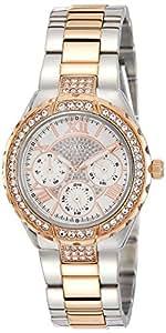 GUESS Dress Analog White Dial Women's Watch - W0111L4