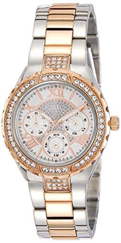 GUESS Dress Analog White Dial Women's Watch - W0111L4 image