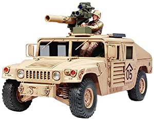 tamiya 300035267 1 35 us m1046 humvee avec tow missiles 2 figurines jeux et jouets. Black Bedroom Furniture Sets. Home Design Ideas