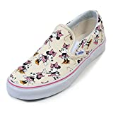 Vans Classic Slip On (Disney) Minnie Mouse/Classic White Shoe 0MEGHI