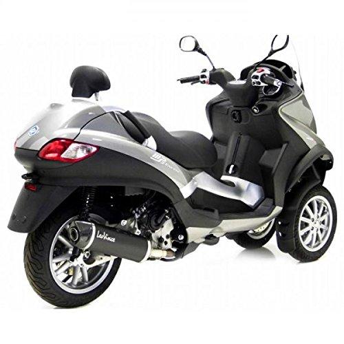14005 Silenciador EVO2 LEOVINCE SBK Piaggio MP3 Negro 500/400-Sport IDT 2008 LT-BLACK