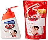 #7: Lifebuoy Total 10 Hand Wash - 215 ml with Free Lifebuoy Hand Wash Refill - 185 ml