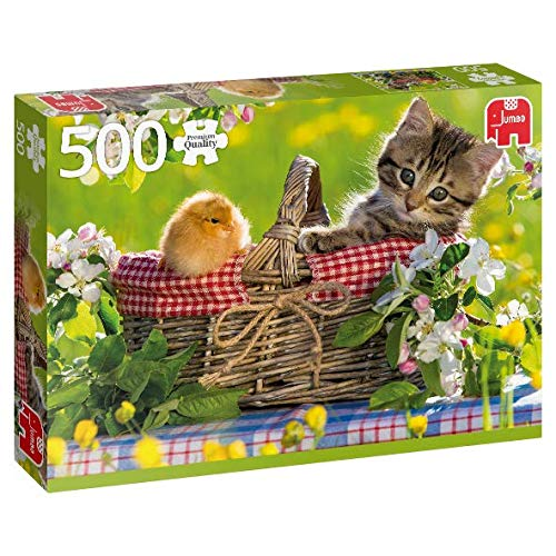 Premium Collection 18801 Puzzle Ready for a Picknick, 500 Teile - Picknick-korb Uk