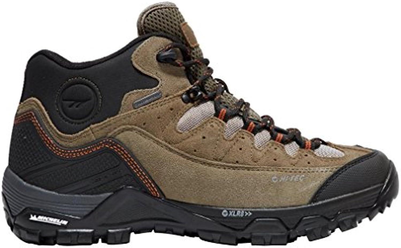 Hallo Tec OX Belmont Low Wasserdicht MAtildecurrennner Walking Schuhe  Braun  42