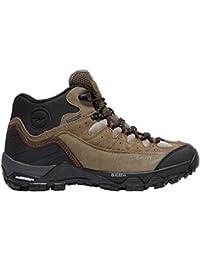 Hola Tec Ox Belmont baja impermeable para hombre zapatos para caminar calzado al aire libre Boot Green, Marrón, 46