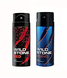 Wild Stone Red And Legend Deodorant For Men (150 ML)