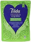 Tilda Steamed Garden Vegetable & Quinoa Basmati Rice, 6er Pack (6x250g)
