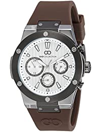 Gio Collection Analog White Dial Men's Watch - G1010-05
