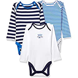 Mothercare Regular Fit Cotton Bodysuit (Pack of 5)(JC102-1_multicoloured_newborn)