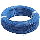 #9: Silicone Wire 18 AWG Blue 1 Meter