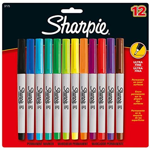 sharpie-s0941891-lot-de-12-marqueurs-permanents-a-pointe-ultrafine-coloris-assortis