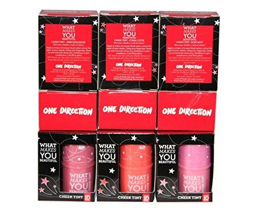 18 x One Direction 1D Cheek Teinte 3 teintes Vente en gros