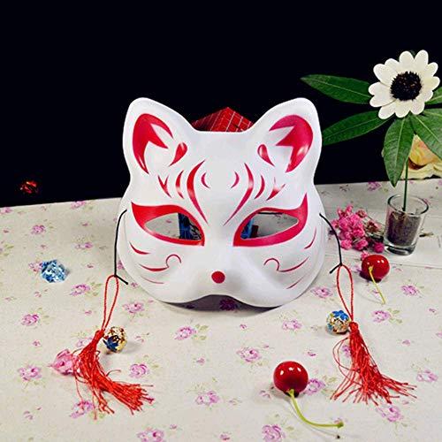 Kostüm Glühwürmchen Kinder - VAWAA Cosplay Anime Das Licht Der Glühwürmchen Wald Fuchs Maske Halloween Fuchs Katze Gesicht Exquisite Mode Geschenk.