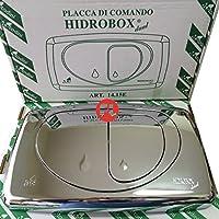 Todini Hidrobox - Kit placa de control Dual Evolution cromada y brillante empotrable.